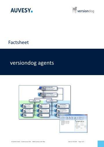 Factsheet - versiondog Upload & Compare Agents
