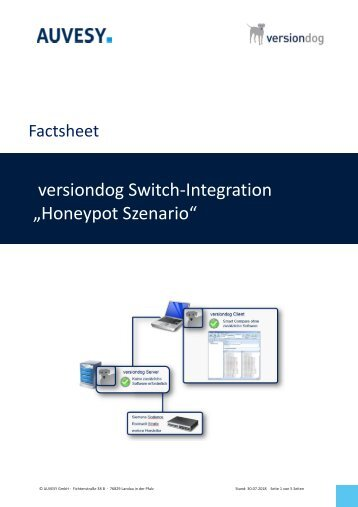 Factsheet - versiondog Switch Integration