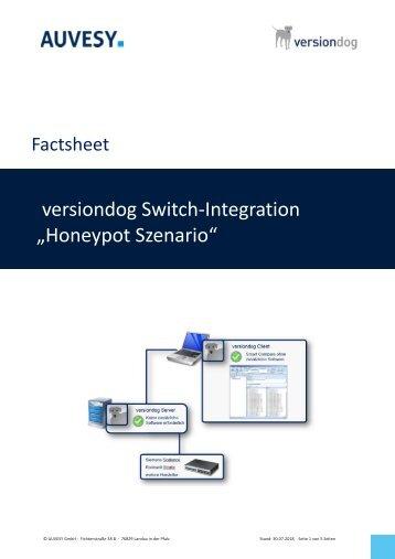 Factsheet - versiondog Switch Integration