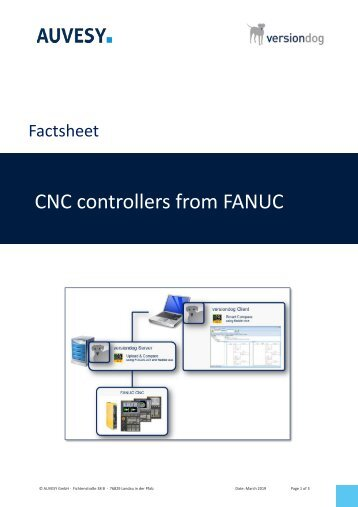 Factsheet - CNC controllers from FANUC