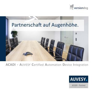ACADI - Partnerbroschüre