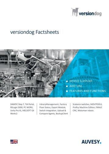 versiondog factsheet brochure