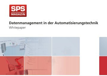 SPS Whitepaper - Datenmanagement in der Automatisierungstechnik mit AUVESY