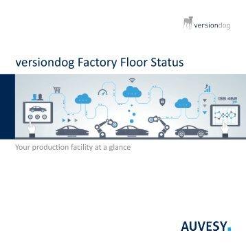 versiondog Factory Floor Status