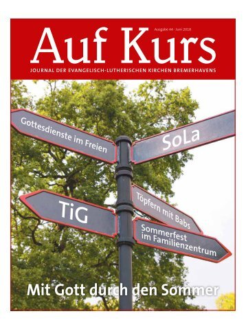 Kirchenjournal »Auf Kurs«