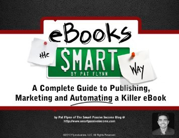 eBooks The Smart Way - Smart Passive Income