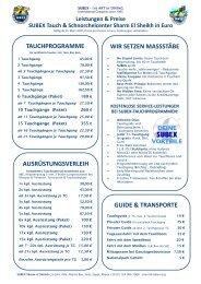 SSH Preisliste EUR pg