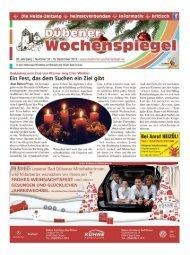 Dübener Wochenspiegel - Ausgabe 24 - 19-12-2012