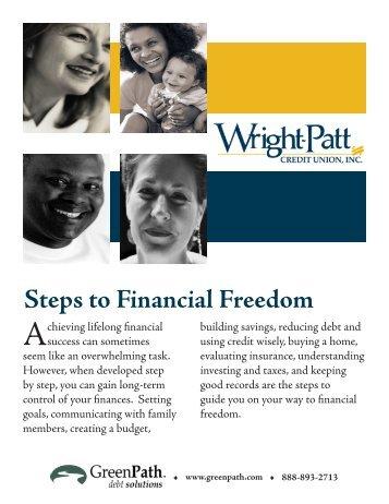 Steps to Financial Freedom - Wright-Patt Credit Union