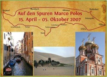 Auf den Spuren Marco Polos