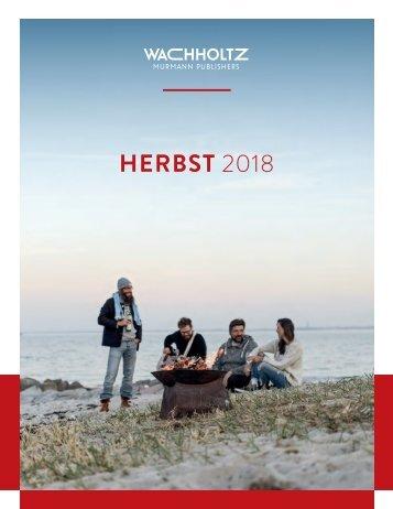 Wachholtz Verlagsprogramm 2/2018