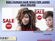 Real Human Hair Wigs for Ladies Sale Online