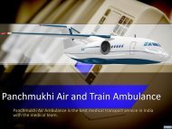 Get Low-Cost Medical Charter Air Ambulance in Delhi and Patna