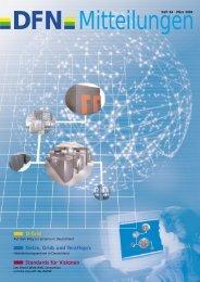 D-Grid Netze, Grids und TeraFlop/s Standards für ... - DFN-Verein