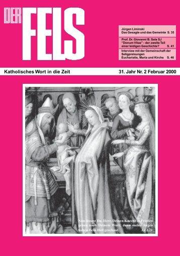 Februar 2000 - Der Fels