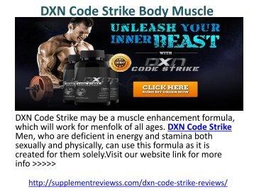 DXN Code Strike Body Muscle