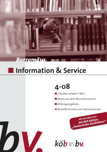 Information & Service 4-08 - Borromedien