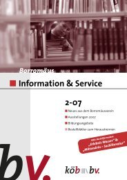 Information & Service 2-07 - Borromäusverein