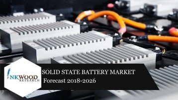 Solid State Battery Market Sample Report PDF