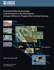 Forecasting Selenium Discharges to the San Francisco Bay ... - USGS