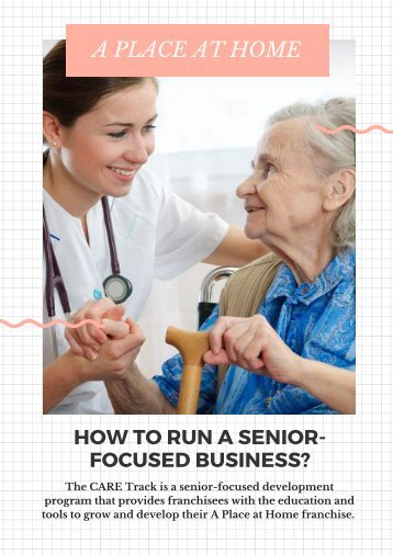 How to run a senior-focused business?
