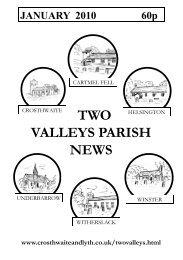 January mag 10.pub - The Parish of Crosthwaite and Lyth
