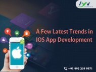 iOS App Development Company in Pune, iPhone App
