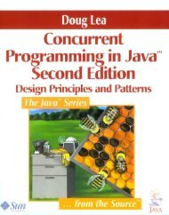 Concurrent Programming in Java Design Principles and Pattern