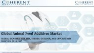 Global Animal Feed Additives Market to Surpass US$ 23.93 Billion by 2025