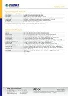 PLANET_Datasheet_Wirelees-Access-Point-WDAP-C7200E_2018_EN - Page 7