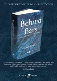 Behind Bars the definitive guide to music notation