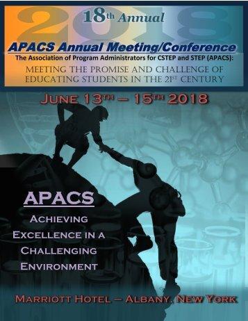 2018 APACS Program Final