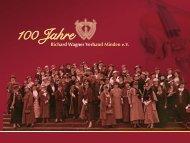 Festschrift - Richard Wagner Verband Minden eV