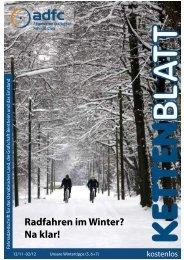 Radfahren im Winter? Na klar! - ADFC - Osnabrück