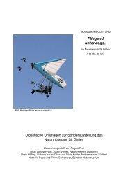 Fliegend unterwegs.. - Naturmuseum St.Gallen