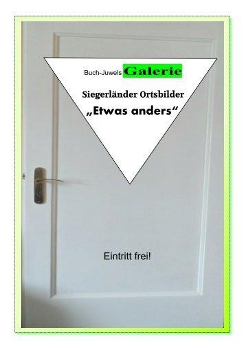 """Galerie """"Etwas anders"""" - Siegerland"""