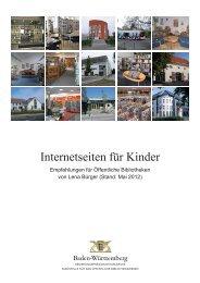 Internetseiten für Kinder - Stand - Regierungspräsidium Karlsruhe
