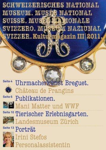 Kulturmagazin 3/2011