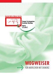 Wegweiser für Menschen mit Demenz Adressen ... - Stadt Düsseldorf