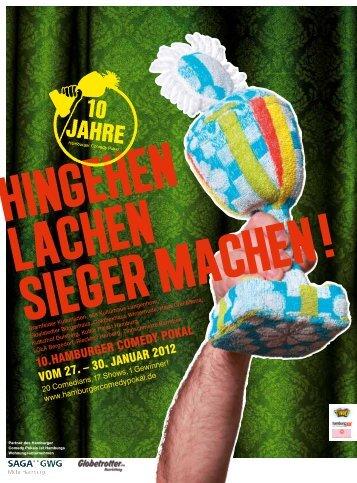 14 x in Hamburg - Hamburger Comedy Pokal