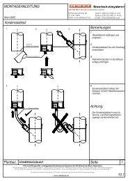 Montageanleitung - AIR FIRE TECH