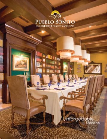 PBR-GM Brochure - Pueblo Bonito Resorts