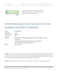 Introducing electric vehicles into the current ... - Ea Energianalyse