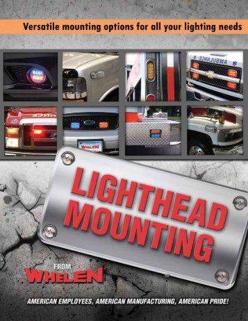 lighthead mounting - Whelen Engineering