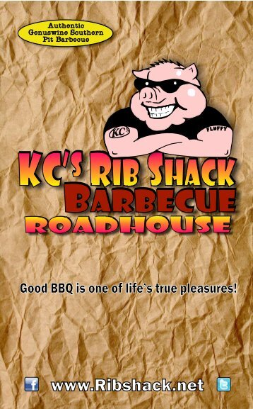 FROM OUT IN THE FIELDS - KC's Rib Shack