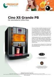 Cino XS Grande PB - Freshcup Deutschland DLR GmbH