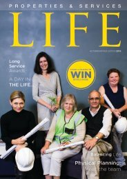 UCT Properties and Services - Magazine 2016