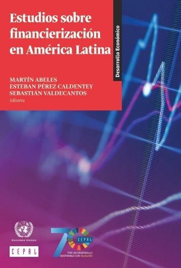 Estudios sobre financierización en América Latina