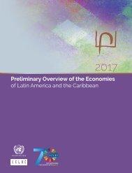 Balance Preliminar de las Economías de América Latina y el Caribe 2017