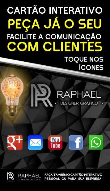 Cartão Interativo Raphael - Publicidade